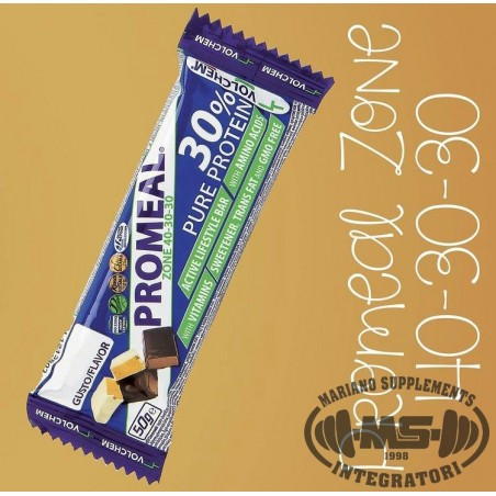 PROMEAL ZONE 40-30-30 50G CEREALI CACAO C.BIANCO