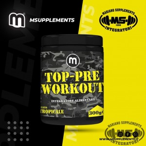 TOP-PRE WORKOUT 300G TROPICALE