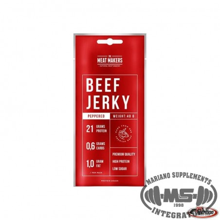 BEEF JERKY PEPPERED 40G