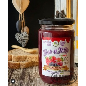 JAM N JELLY 280G RED FRUITS...
